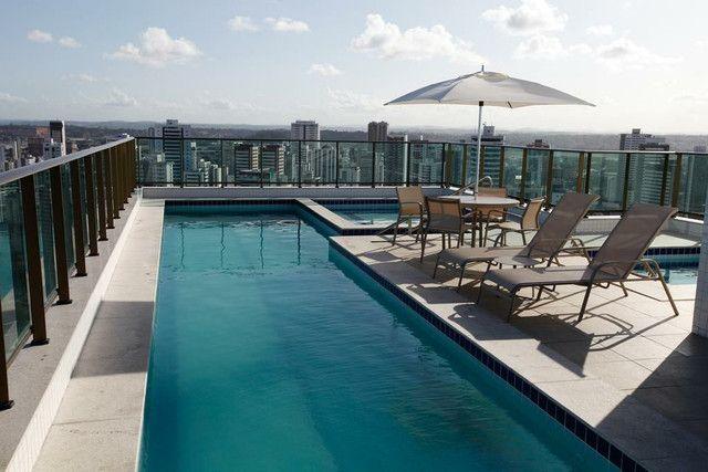 apartamento 2 quartos (EDF. BEACH CLASS CONSELHEIRO) maravilhosa  localização Boa Viagem - Foto 2