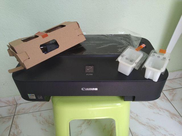 Impressora de fotos Canon Pixma.