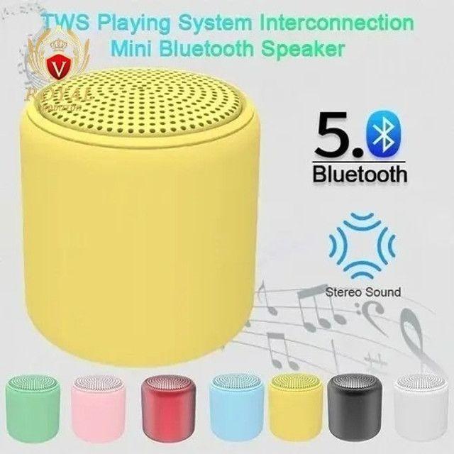 Mini Caixa De Som Inpods Little Fun Macaron Portátil Bluetooth - Foto 5
