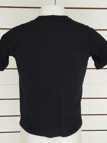Camisa Camiseta Fitness academia musculação esporte 100 algodão - Foto 2