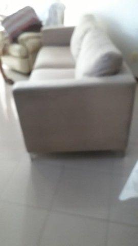 Sofa. Dóis metros e dez de comprimento. - Foto 3