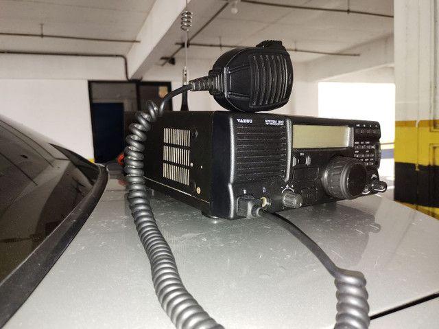 Rádio Yaesu System 600 HF SSB - Foto 2