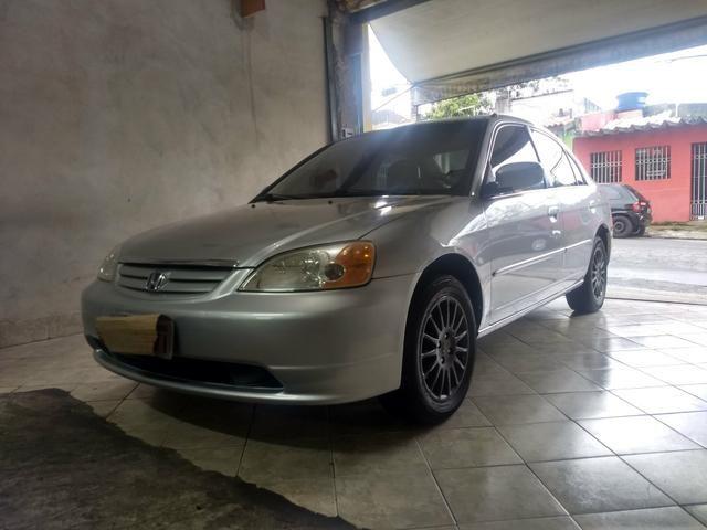 Honda Civic EX Completo Com Banco De Couro
