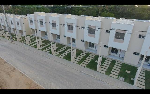 Vendo duplex 2/4 novíssimo em condomínio fechado com excelente área de lazer pelo mcmv - Foto 2
