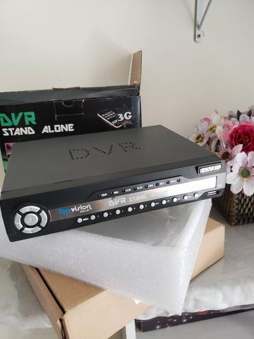 DVR Stand Alone Top Vision Color 8 canais - Foto 5