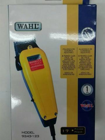 6731b9a04 Maquina Corta Cabelo Barba Profissional Wahl 110v C/ Kit Completo Wahl