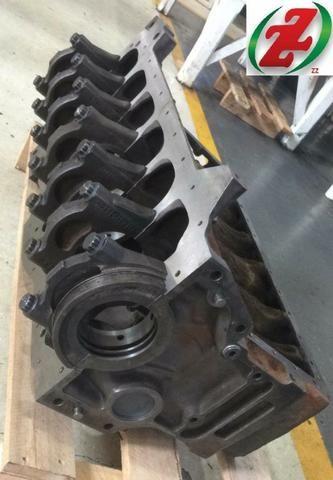 Bloco Motor Om352 Compressor 3 Furos - Foto 6