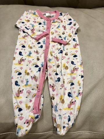 Menina pijamas 0 a 3 meses - Foto 3