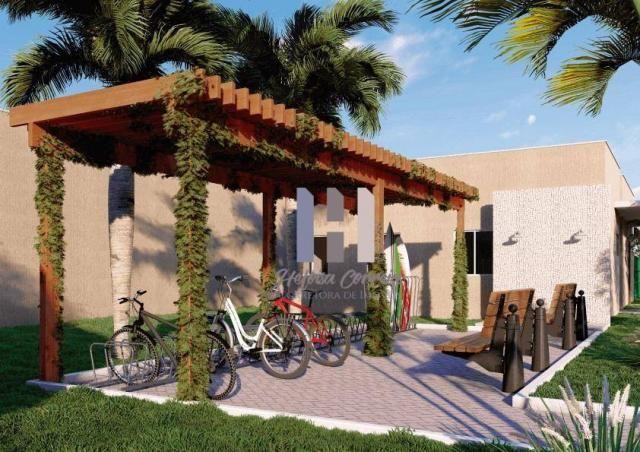 Apartamento com 2 dormitórios à venda, 48 m² por R$ 148.000 - Pium (Distrito Litoral) - Pa - Foto 5