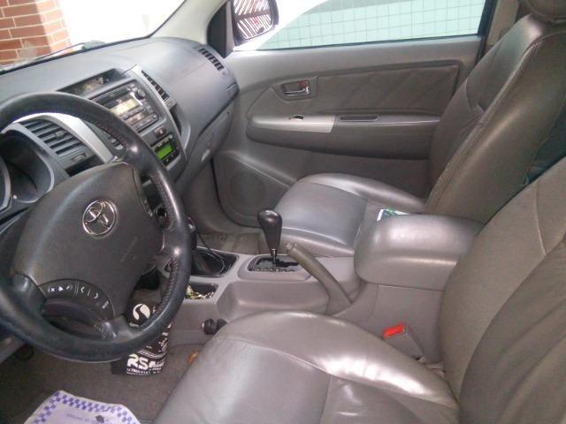 Hilux 2009 srv 3.0 4x4 aut. Diesel,Exc.estado, pneus novos e km bx - Foto 6