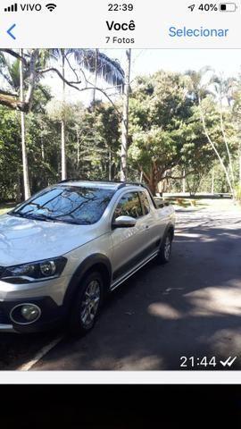 Saveiro Cross 14/15 sem retoque , km original , carro usado passeio