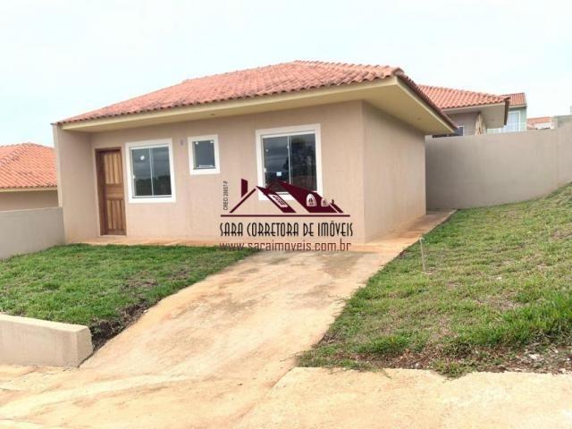 Casas em colombo bairro são dimas $165.000,00 - Foto 2