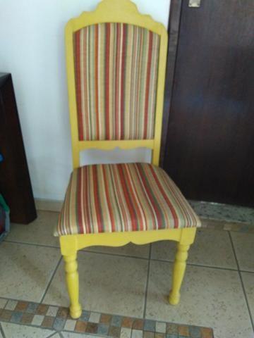 Cadeira antiga restaurada - Foto 6