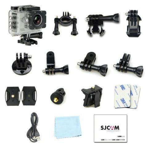 Camera SJ5000 - estilo gopro - Semi-nova - Foto 2