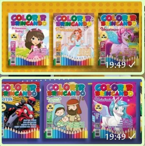 Livros para colorir varejo e atacado - Foto 6