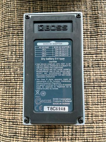 Pedal Boss Chorus Ch1 Praticamente Zero - Foto 4