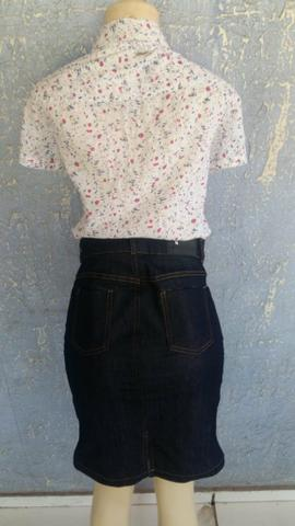 Saia jeans tm:38 nova 25reais - Foto 2
