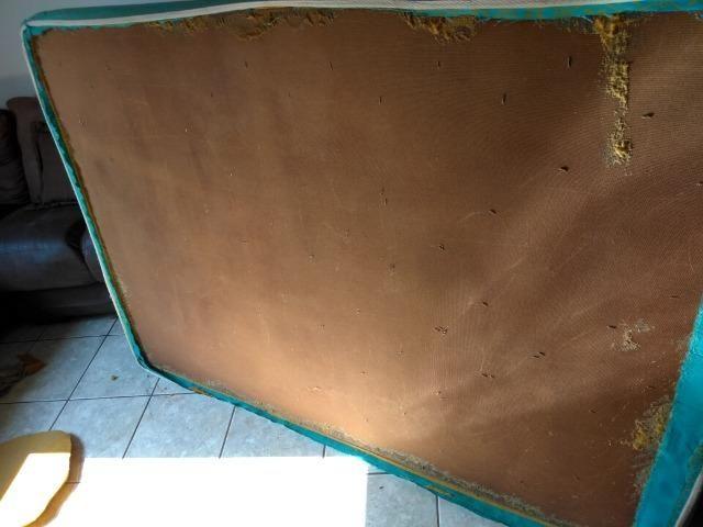 Colchão ortopédicos caixa de madeira para reformar - Foto 3