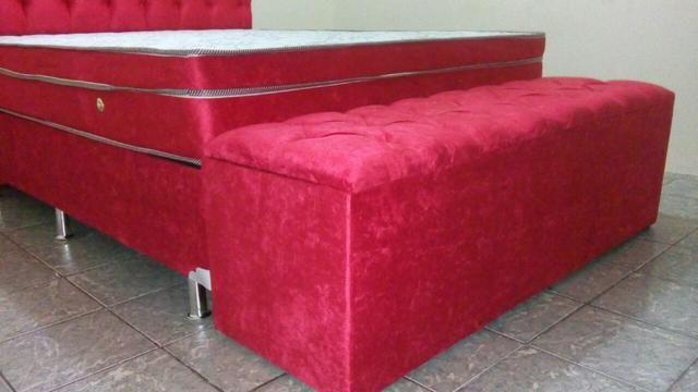 Conjunto box super king Molas Ensacadas Individualmente - pocket - Foto 3