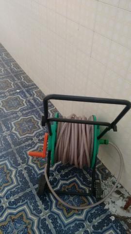 Mangueira com enrolador 100m - Foto 2