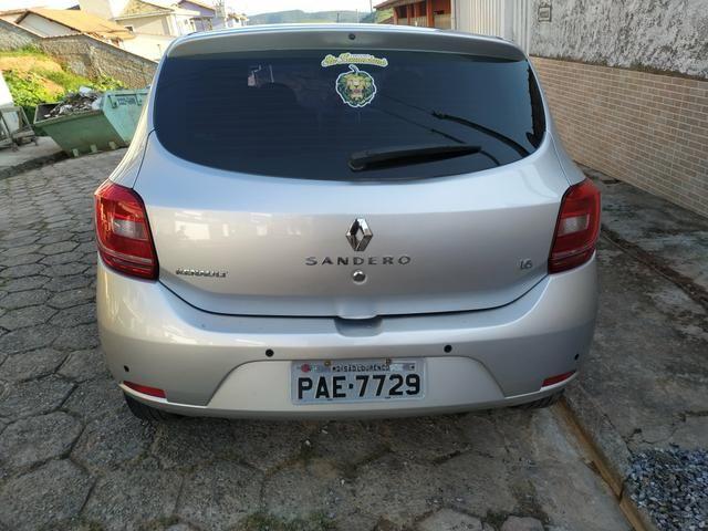 Renault Sandero Dinamique 1.6 8v easy-R 2015 - Foto 6