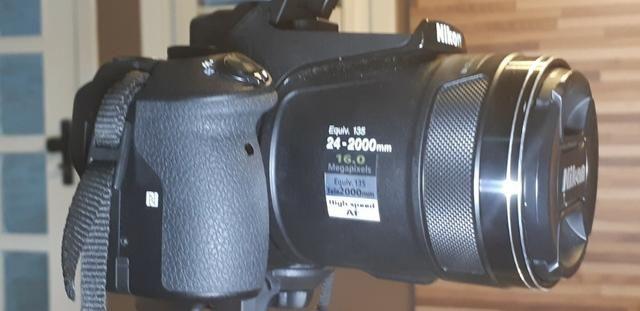 Câmera Nikon Coolpix P900 zoom óptico de 83x impecável e completa-Para exigentes - Foto 6