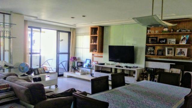 Apartamento projetado no Meireles 117m, 2 suítes com closet, Escritório, 3 vagas - Foto 2