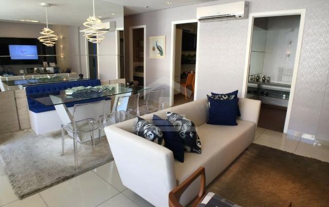 (JR) Apartamento alto padrão na Aldeota > 3 Suítes + dce > Torre Unica > 3 Vagas!