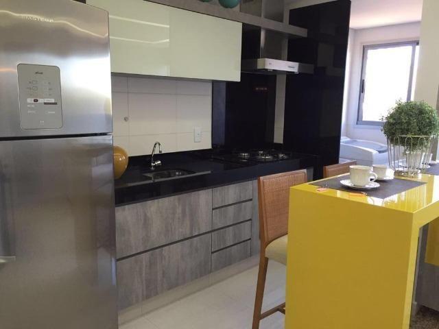Apartamento 2qts 1suite 1vaga, alto padrao, lazer, prox shopping Buriti, ac financiamento - Foto 2