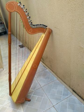 Harpa paraguaia artesanal - Foto 2