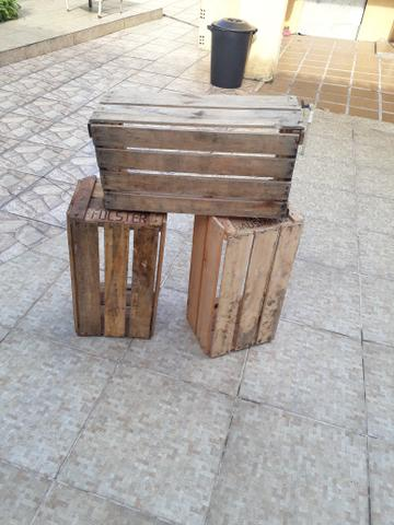 Caixotes de madeira