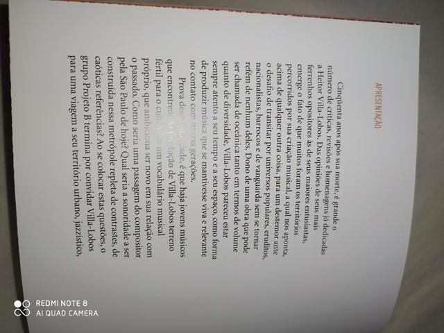 Livro projeto b a viagem de villa-lobos - Foto 4