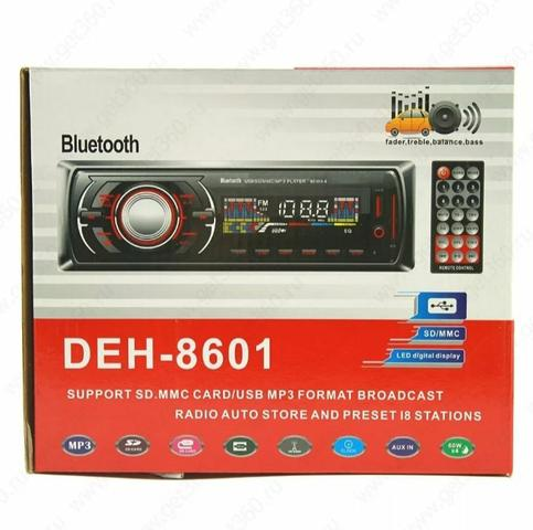 Som automotivo padrão via Bluetooth aux radio cartão de memória e pen drive Ac cartão - Foto 2