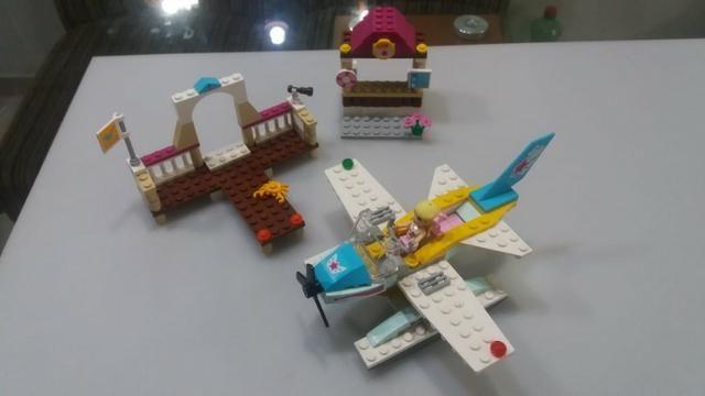 Lego 3063 Heartlake Flying Club - avião menina - Foto 3