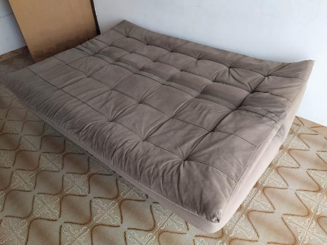 Vendo sofá-cama 4 lugares - Foto 5