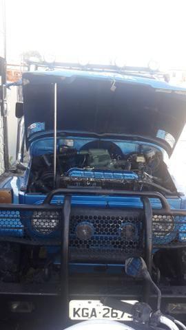 Toyota Bandeirante a Diesel - Foto 3