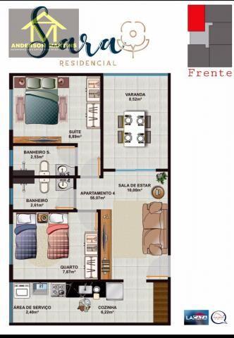 Apartamento à venda com 2 dormitórios em São geraldo, Cariacica cod:14888 - Foto 11