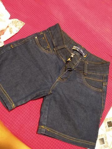Calça n 38 pequeno , bermudas 36 , blusa pm - Foto 2