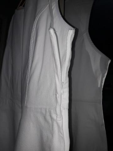 Vestido Branco Plus Size - Foto 6