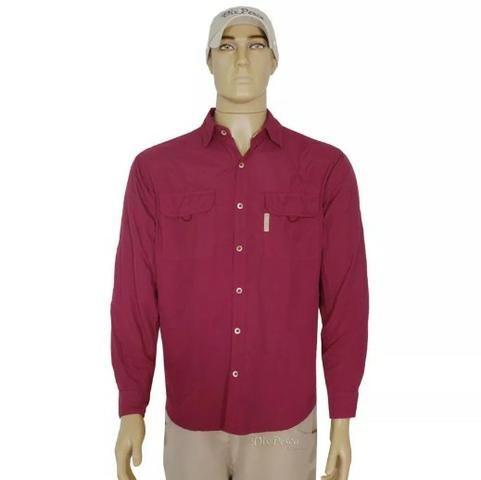 Camisa c/ Proteção UV 30+ Ballyhoo Crisis - NOVA - Foto 5