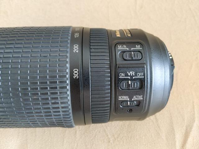 Lente Nikon AF-S VR Zoom Nikkor 70-300mm F/4,5-5,6G IF-ED - Foto 2