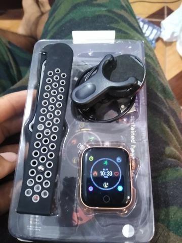 Smartwatch relogio inteligente relógio inteligente relógio inteligente relógio inteligente - Foto 3
