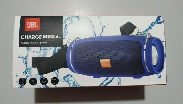 Vendo Jbl Xtreme Mini Nova Azul Ótima Qualidade de Som - Foto 2