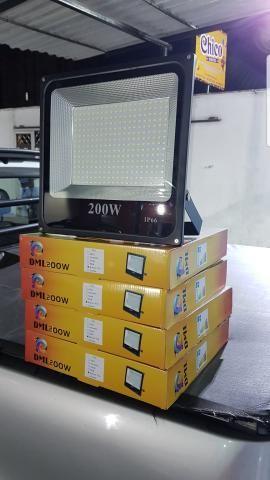 Vendo refletores de led luz branca 200wts por 250.00 reais cada - Foto 2
