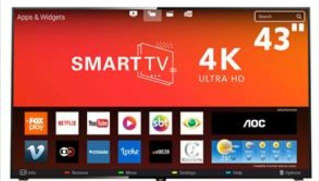 """Smart tv 43"""" perfeito estado - Foto 2"""