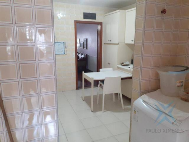 Apartamento com 3 dormitórios para locação ou venda, 150 m² por r$ 500.000 - meireles - fo - Foto 7