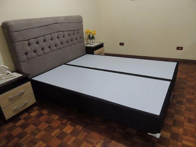 "Base Cama Box Queen Size e King Size ""Direto de Fábrica"""
