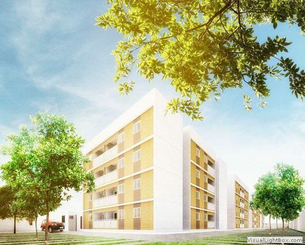 [JN] Apartamento de 2 quartos num condomínio completinho em Candeias - Foto 2
