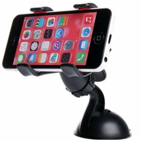 Suporte Veicular Universal para Celulares e GPS com Ventosa