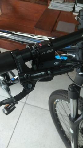 Bicicleta aro 29 27 marchas freio hidraulico - Foto 2